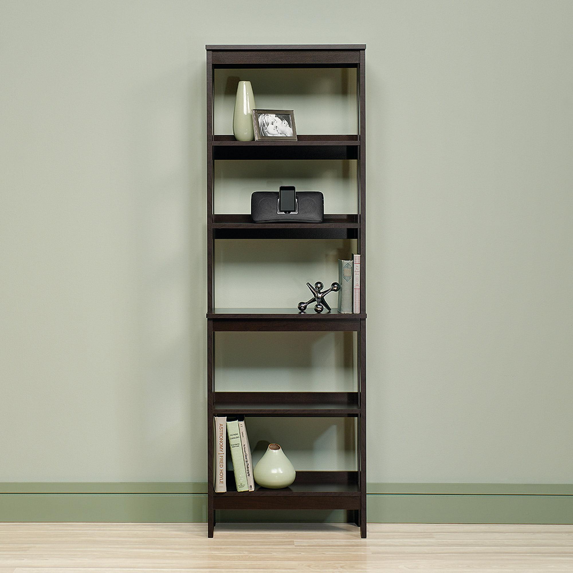 Sauder Beginnings 5 Shelf Bookcase, Cinnamon Cherry Finish   Walmart.com