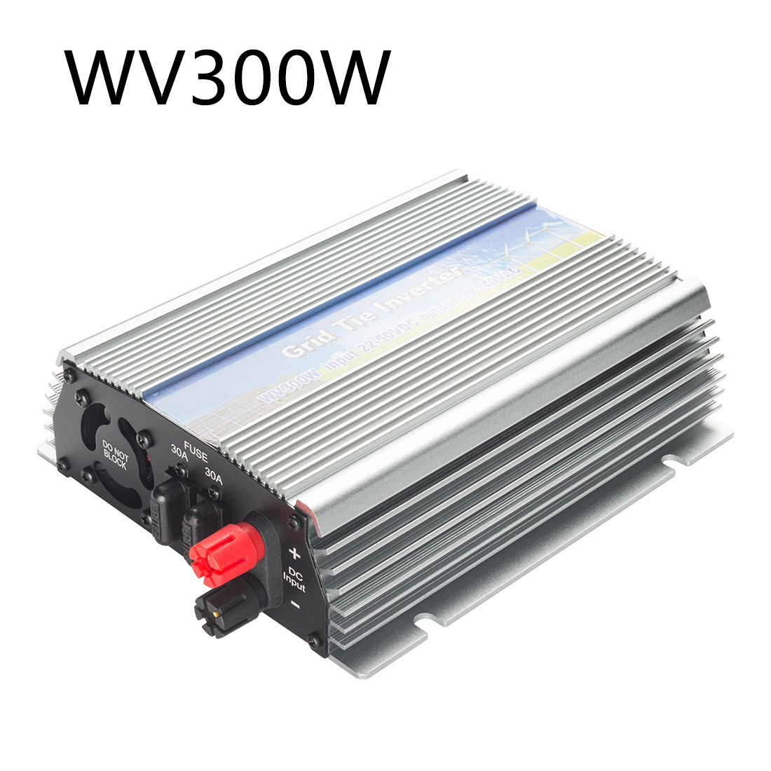 US WV 300W Grid Tie Inverter MPPT For Solar Panel Stackable Pure Sine Wave - image 7 of 7