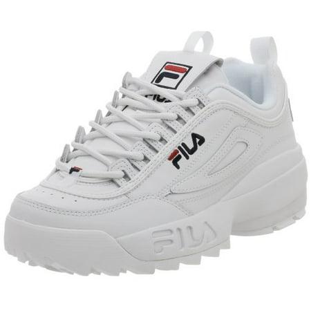 Fila FW01655 111 : Men's Disruptor II Sneaker White