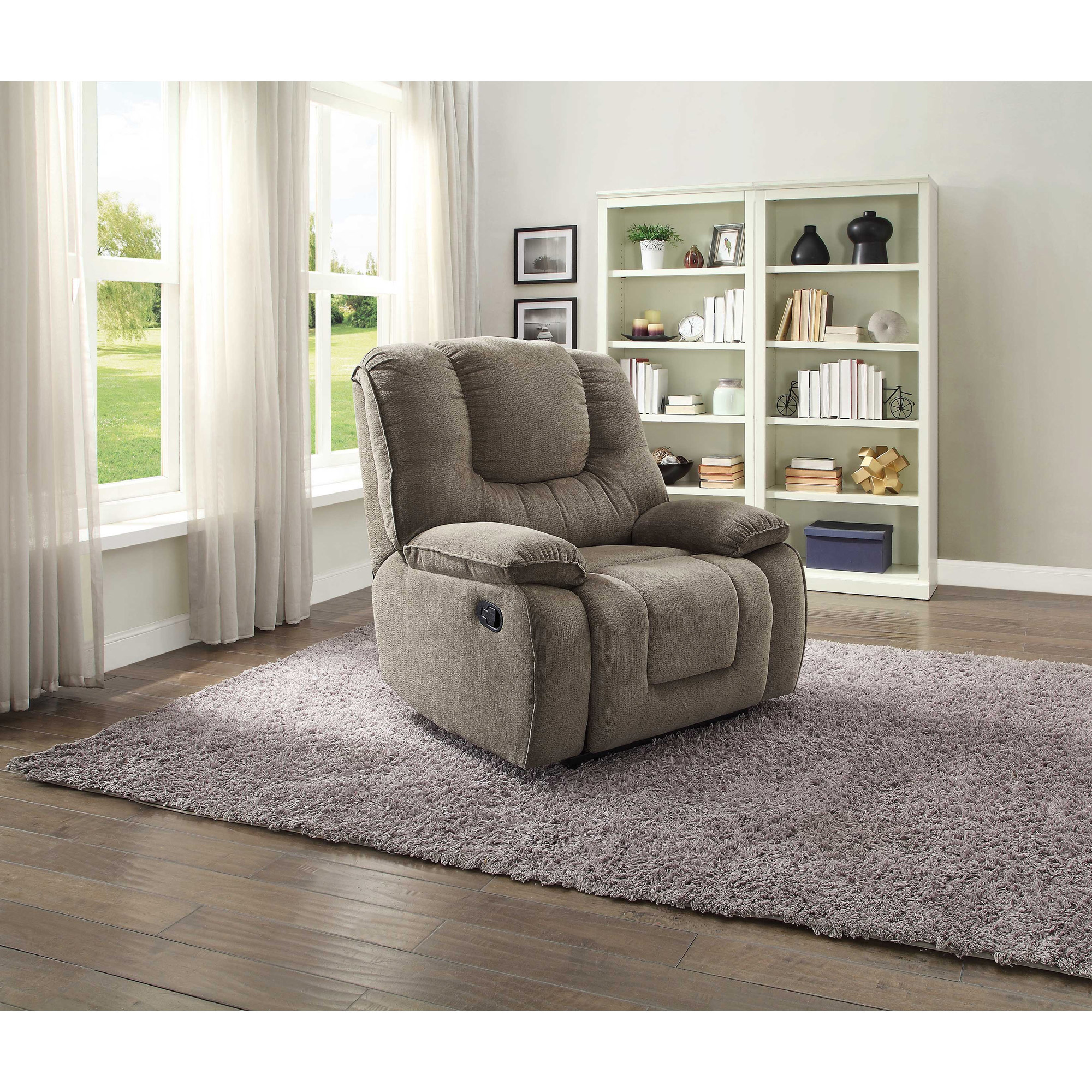 Better Homes and Gardens Big u0026 Tall Recliner with In-Arm Storage and USB Multiple Colors - Walmart.com  sc 1 st  Walmart & Better Homes and Gardens Big u0026 Tall Recliner with In-Arm Storage ... islam-shia.org