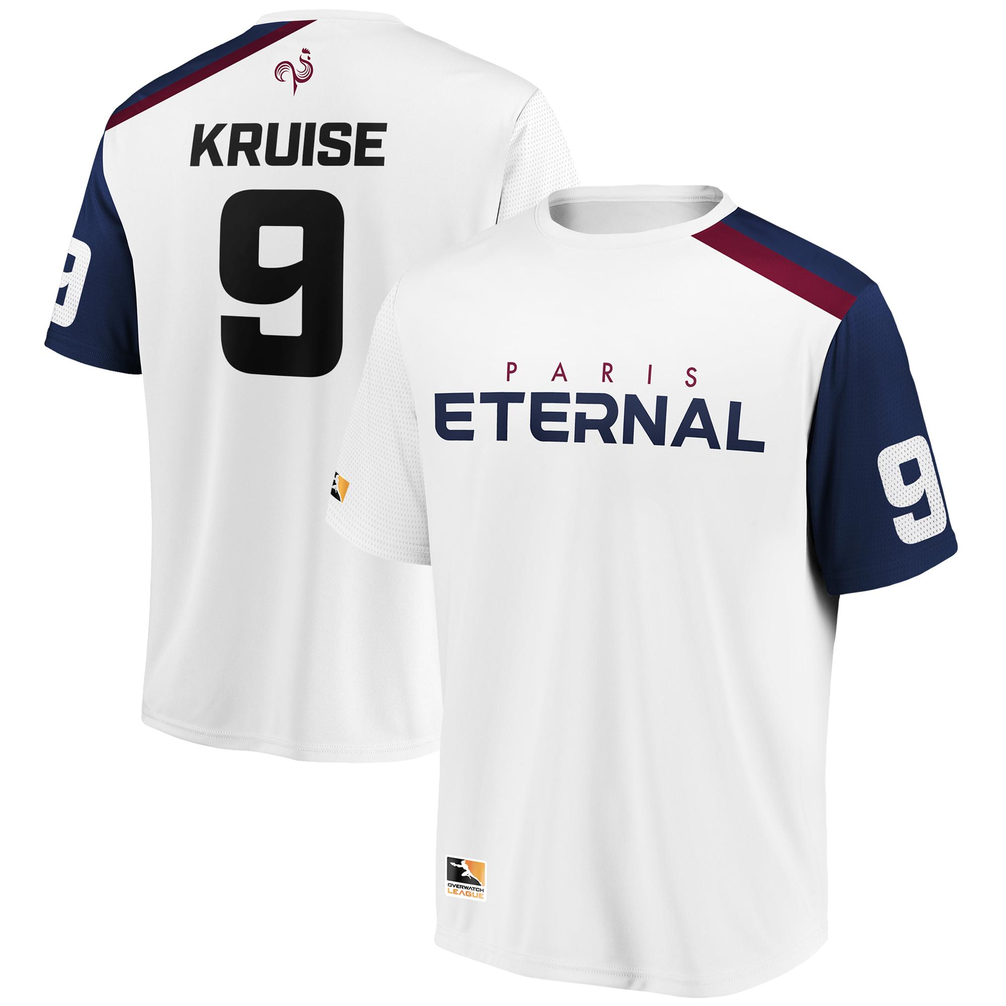 Kruise Paris Eternal Overwatch League Replica Away Jersey - White