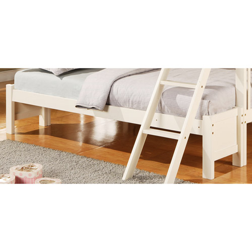 Elise Twin-Over-Full Bunk Bed Conversion Kit, Soft White -Component