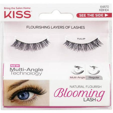 Natural False Eyelashes - KISS Natural Flourish Blooming Lash False Eyelashes, Tulip, 1 pair