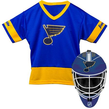 Franklin Sports NHL St. Louis Blues Youth Team Uniform Set ()