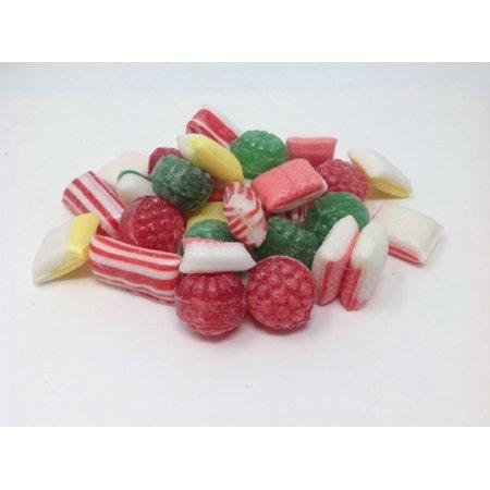 Sugar Free Christmas Mix Holiday Mix sugar free Hard Candy assorted 1 pound Hard Candy Basket