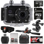 Vivitar DVR786HD 1080p HD Waterproof Action Video Camera Camcorder (Black) with Remote, Vented - Best Reviews Guide