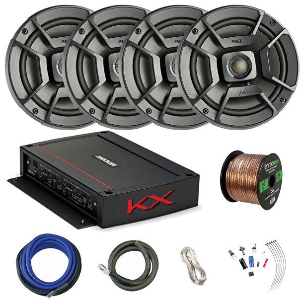 Polk Audio 6.5 Inch 300 Watts 2 Way Car/Marine Stereo Coaxial