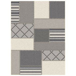 Dynamic Rugs 5042-9099 Piazza Area Rug Grey 6-ft 7-in 9-ft 6-in