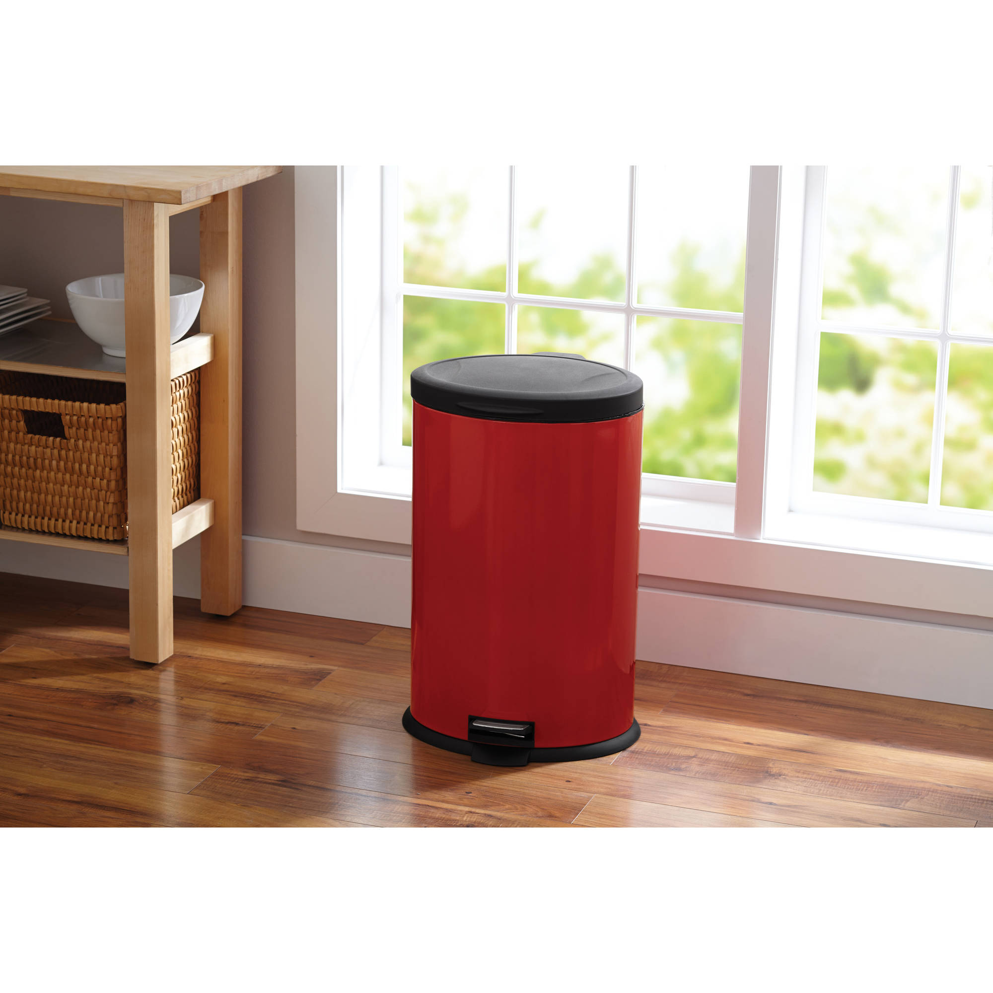 better homes and gardens trash cans & recycle bins - walmart