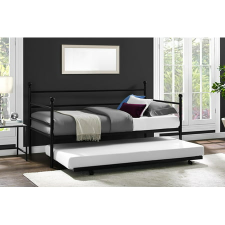 Mainstays Metal Daybed and Trundle, Multiple (Augusta Daybed)