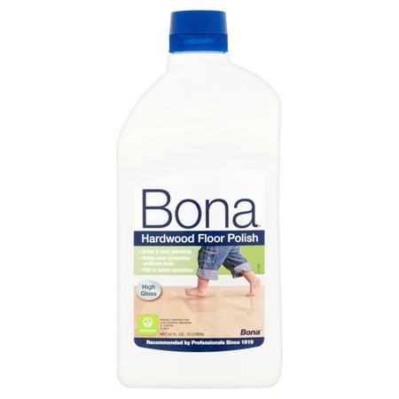 Bona Swedish Formula High Gloss Hardwood Floor Polish, 24 oz - Bona Swedish Formula High Gloss Hardwood Floor Polish, 24 Oz