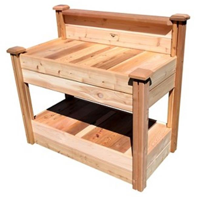 Tool Free Assembly Potting Bench 24x48x48