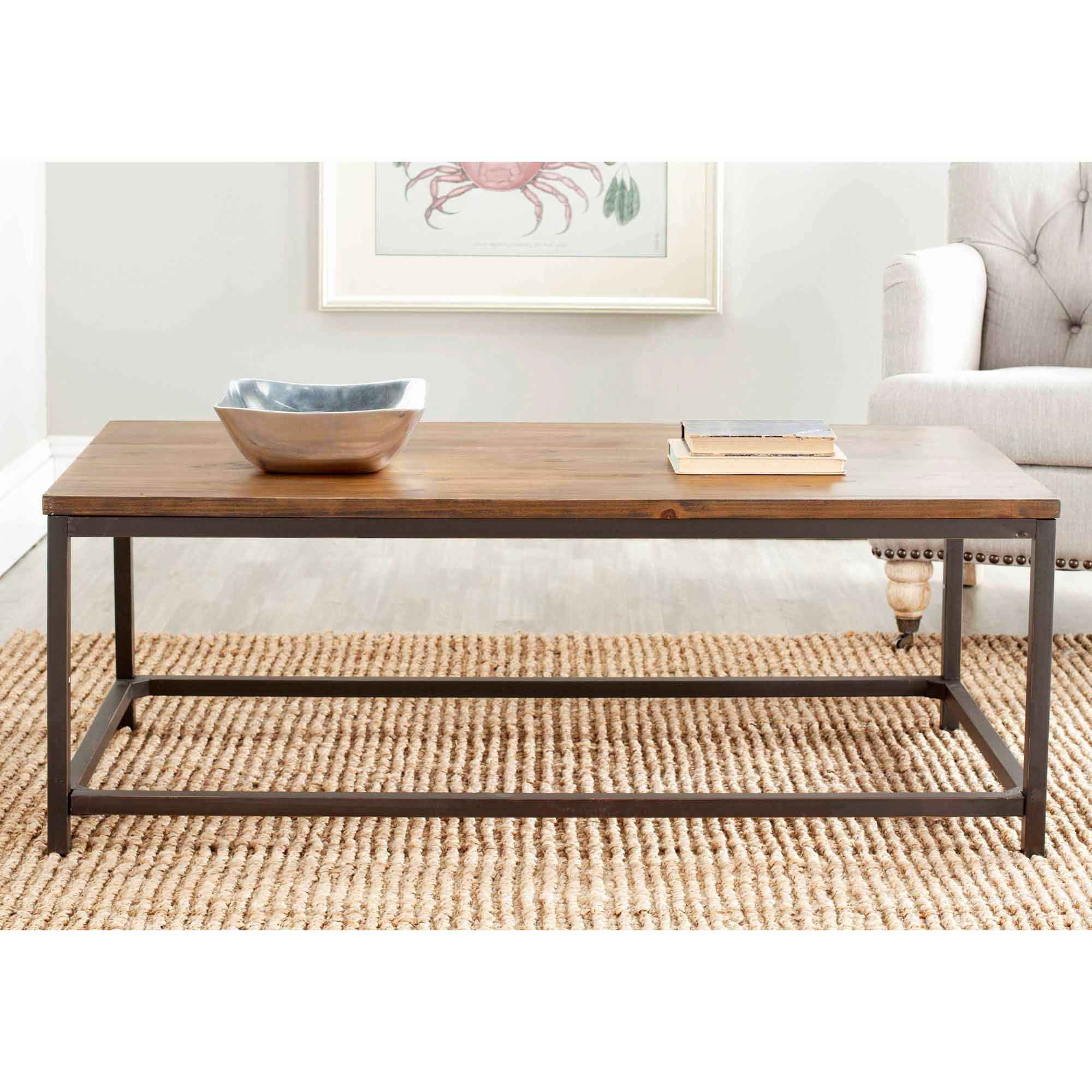 Safavieh Alec Coffee Table, Multiple Finishes