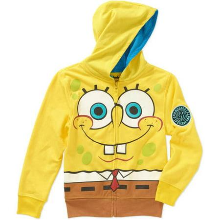 Spongebob Squarepants Boys Costume Hoodie