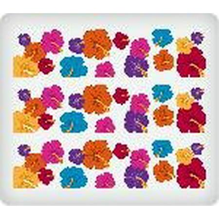 Hibiscus Flowers Edible Frosting Image Cake Border Strips Walmartcom