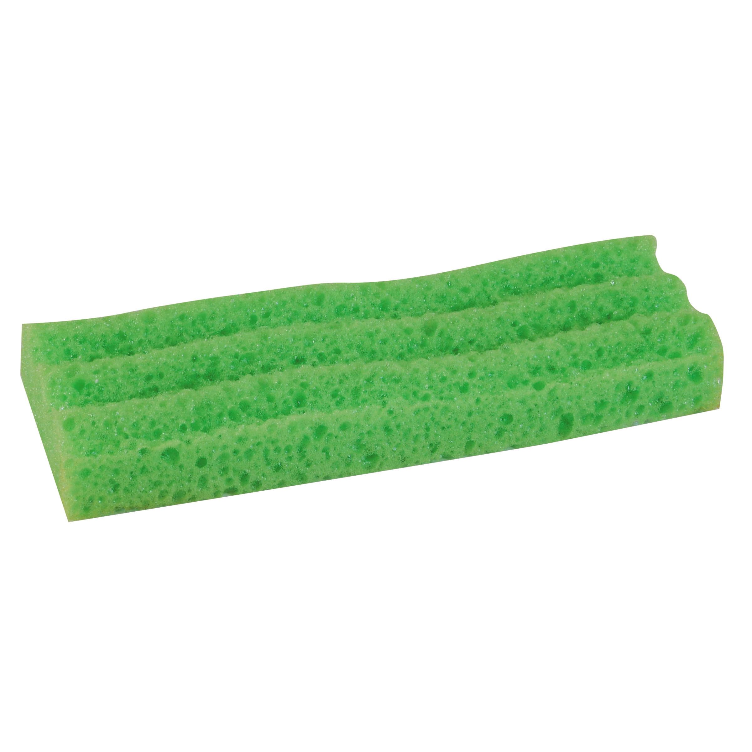 """LYSOL Brand Sponge Mop Head Refill, 9"""", Green"""