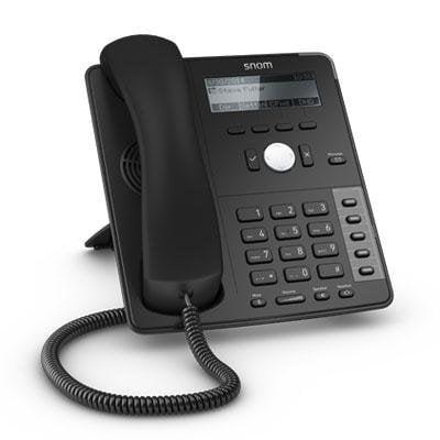 SNOM D715 IP phone Black Snom 360 Ip Phone