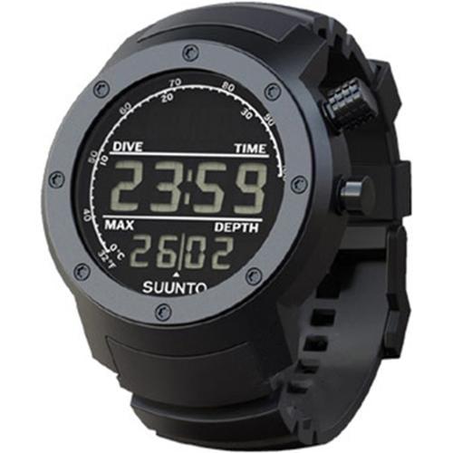 Suunto Men's Elementum Aqua Black Rubber/Dark Face SS014528000 Black Aluminum Quartz Watch