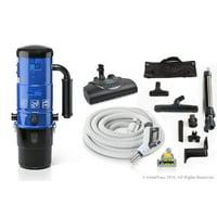 ProLux Central Vacuum Unit System with ProLux Electric Hose Power Nozzle Kit