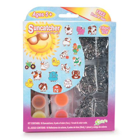 Kelly's Crafts Suncatcher Group Pack Farm by The New Images Group