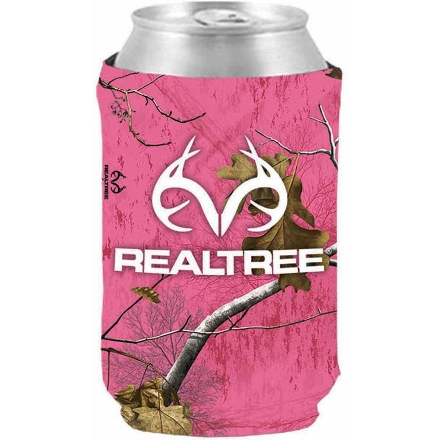 SEI Realtree Logo Magnetic Can Cooler