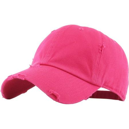 c2c9d0d7 KBETHOS - Washed Solid Vintage Distressed Cotton Dad Hat Adjustable Baseball  Cap Polo Style - Walmart.com