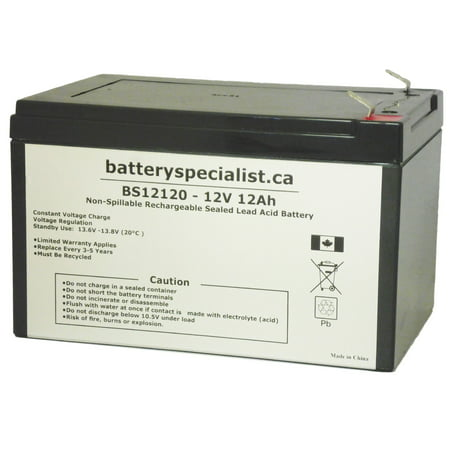 Mongoose CX24V200 - Battery Replacement - 12V 12Ah - image 2 de 2