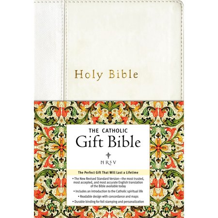 Catholic Gift Bible-NRSV (Catholic High New Iberia Dancing With The Stars)