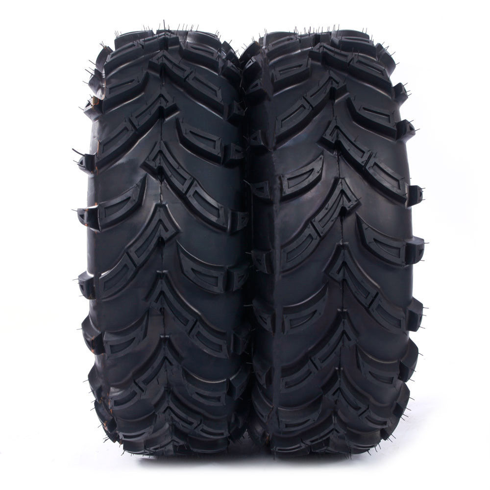 Ktaxon 2Pcs 26x9-12 Front Left and Right Inflate Section Width:245 mm ATV Tires LRC