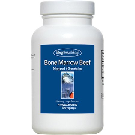 Allergy Research Group, Bone Marrow Beef Supports For Inflammatory 100 Veg Capsules Allergy Research Group Magnesium