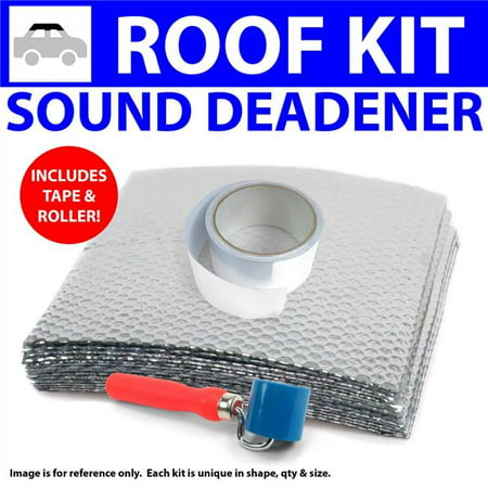 Heat & Sound Deadener for 2003-2012 Chevy Colorado Roof Kit with Tape & Roller