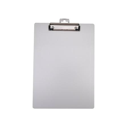 Staples Aluminum Clipboard, Letter Size, Silver , 9