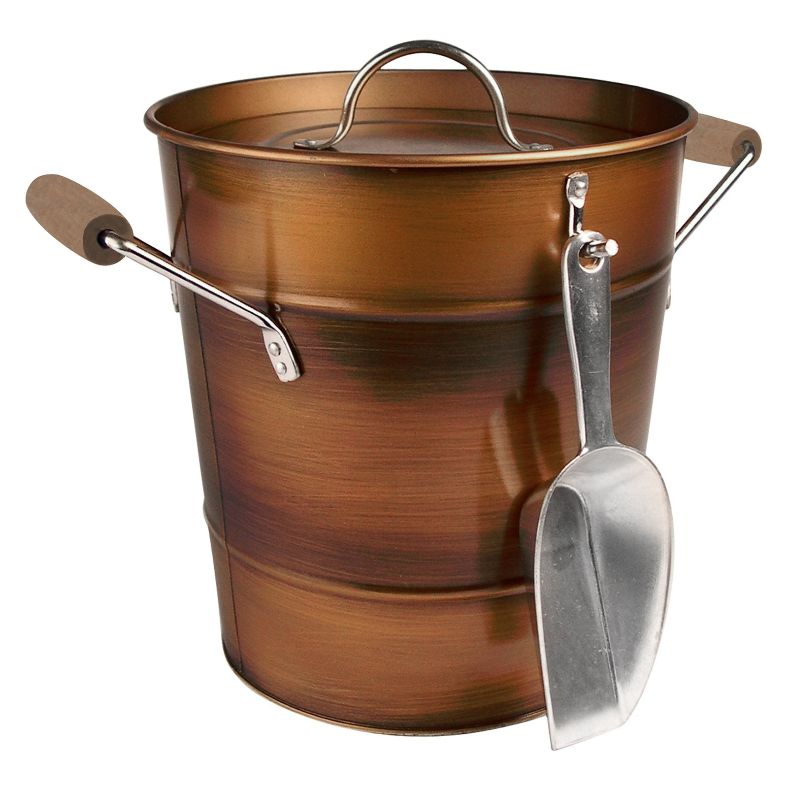 Artland Inc. Oasis Copper Ice Bucket with Scoop by Artland