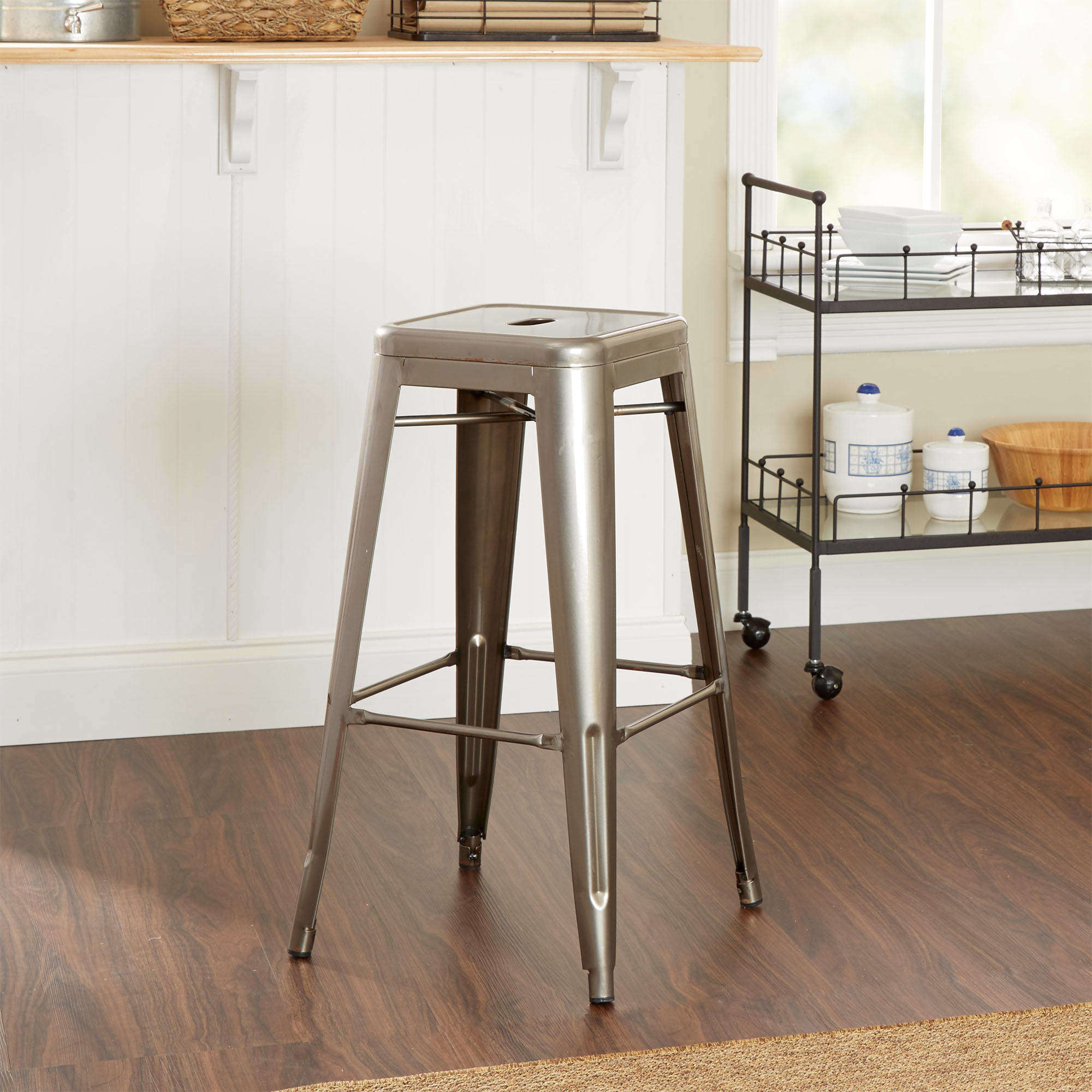 "Better Homes and Gardens 29"" Cafe Stool, Multiple Colors"