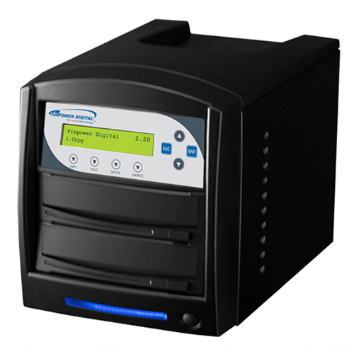 SharkCopier 1 Target CD DVD Duplicator Standalone M-Disc Compatiable