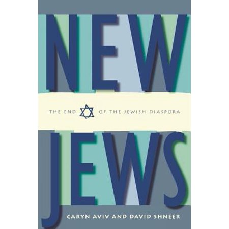 New Jews : The End of the Jewish Diaspora For many contemporary Jews, Israel no longer serves as the Promised Land, the center of the Jewish universe and the place of final destination. In New Jews, Caryn Aviv and David Shneer provocatively argue that there is a new generation of Jews who don't consider themselves to be eternally wandering, forever outsiders within their communities and seeking to one day find their homeland. Instead, these New Jews are at home, whether it be in Buenos Aires, San Francisco or Berlin, and are rooted within communities of their own choosing. Aviv and Shneer argue that Jews have come to the end of their diaspora; wandering no more, today's Jews are settled.In this wide-ranging book, the authors take us around the world, to Moscow, Jerusalem, New York and Los Angeles, among other places, and find vibrant, dynamic Jewish communities where Jewish identity is increasingly flexible and inclusive. New Jews offers a compelling portrait of Jewish life today.