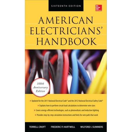 American Electricians Handbook  American Electricians Handbook  Sixteenth Edition  Hardcover