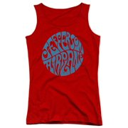 Jefferson Airplane Round Logo Juniors Tank Top Shirt