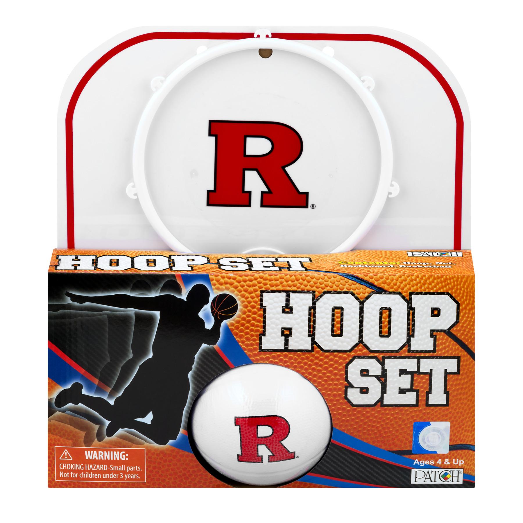 Officially Licensed NCAA Rutgers Hoop Set