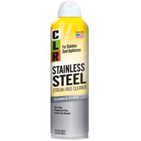 CLR Stainless Steel Cleaner, Non-Abrasive & Streak-Free Aerosol Cleaner, Cleans & Shines, 12 Oz Can