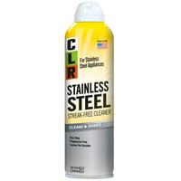 CLR Stainless Steel Streak-Free Cleaner, Cleans & Shines, Non-Abrasive Aerosol, 12 Oz