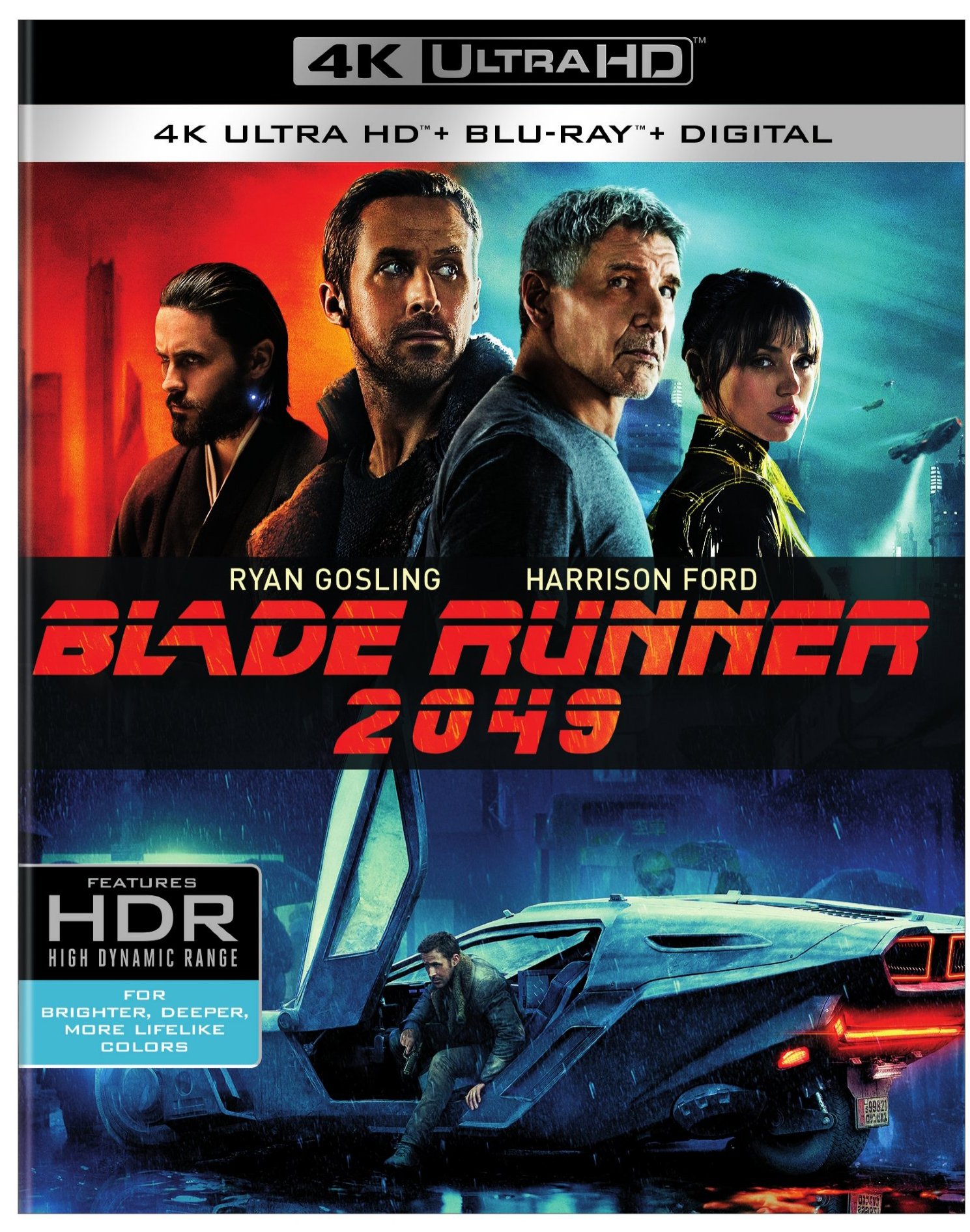 Blade Runner 2049 (4K Ultra HD + Blu-ray + Digital) by WARNER HOME VIDEO