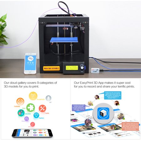 GEEETECH 3D WiFi Module 3D Printer Parts Mini Wifi Box with TF Card Slot  USB 2 0 Interface for Anet A8/ Anycubic I3 Mega/ Creality CR-10/ monoprice