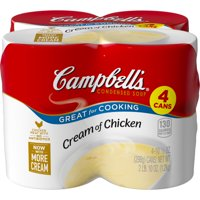 Campbell's Condensed Cream of Chicken Soup, 10.5 oz. Cans (4 pack)