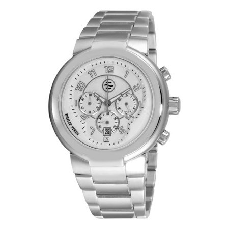 Philip Stein Mens 32 Aw Ss Active Stainless Steel Bracelet Watch