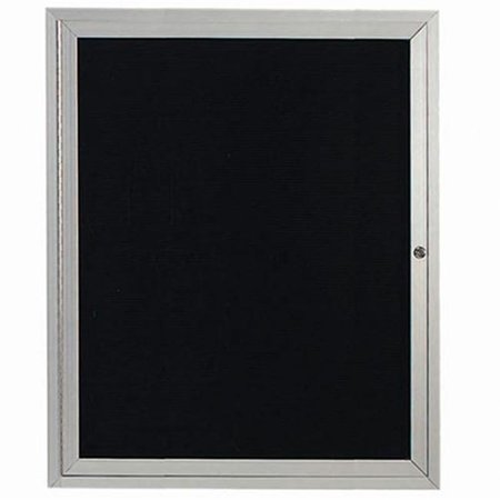 Aarco Products ADC3630 Enclosed Directory Board - Clear Satin - Indoor Directory Board