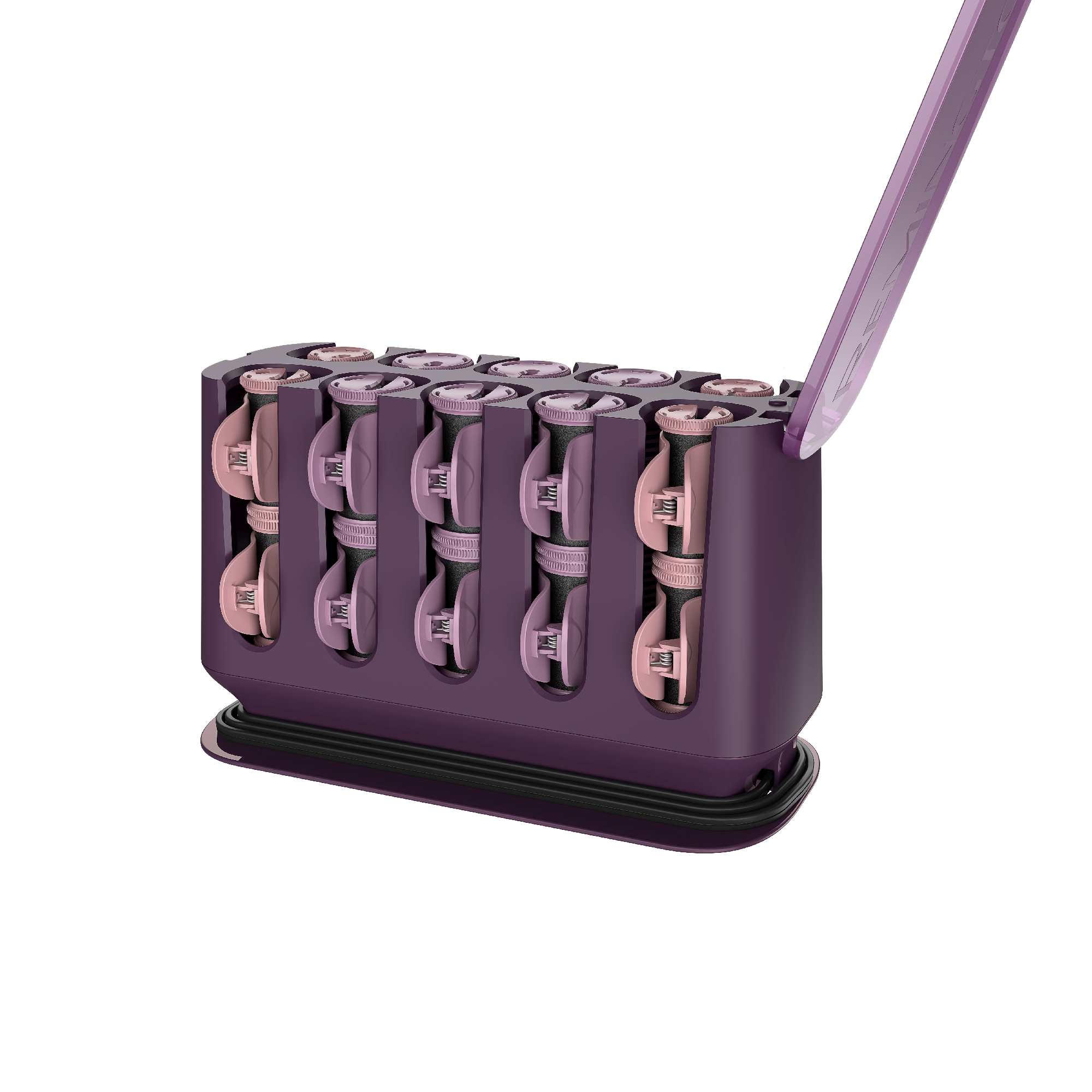 Remington Pro Thermaluxe Ceramic Hair Setter, Hair Rollers, Purple, H9100