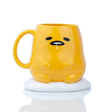- Gudetama Collectible | Gudetama The Lazy Egg 3D Ceramic Mug 16 Ounces