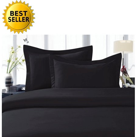 Celine Linen  Supreme 1500 Collection 4Pc Bed Sheet Set   All Size And Colors    Great Deal      Queen Black