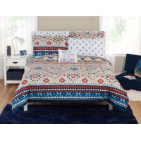 Deals on Mainstays Ecclectic Southwest Bed in a Bag